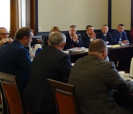 Spotkanie samorządowców z Marszałkiem Województwa