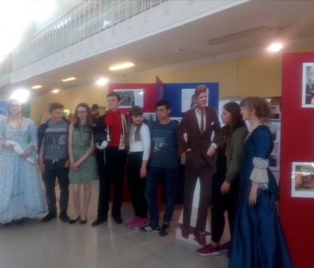 Uczniowie szkoły w Potęgowie na Słupskim Festiwalu Historycznym