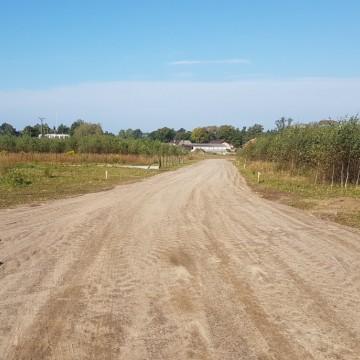 Remont drogi dojazdowej do działek budowlanych w Łupawie