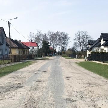 Wniosek o dofinansowanie przebudowy ul. Szerokiej w Potęgowie