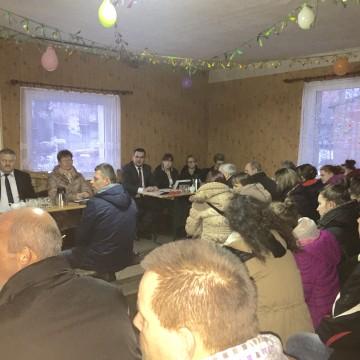Wyjazdowe posiedzenie komisji Rady Gminy w Dąbrównie