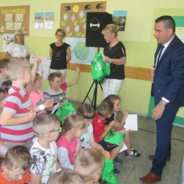 Jestem EKO - spotkanie z uczniami SP w Łupawie