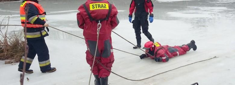 Lodowa Pułapka 2017 – ćwiczenia OSP