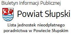 Nieodpłatne poradnictwo w Powiecie Słupskim